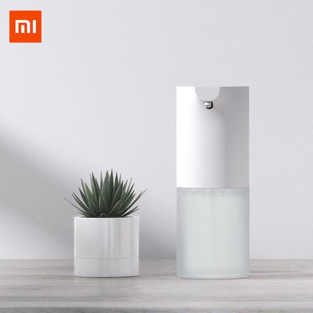 במלאי Xiaomi Mijia אוטומטי אינדוקציה קצף יד מכונת כביסה אוטומטי מתקן לסבון סבון 0.25s אינפרא אדום חיישן חכם בית