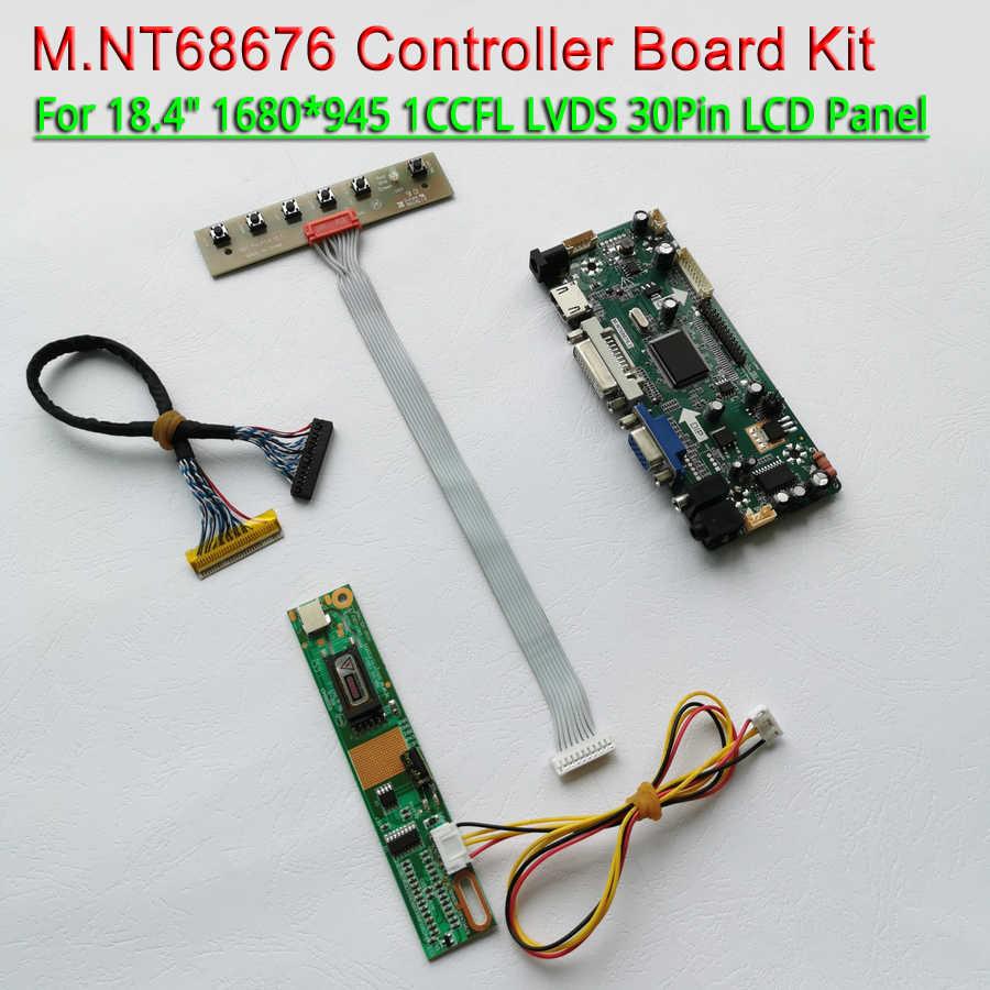 HDMI VGA DVI Audio Lcd Driver Controller Board For LTN184KT01 LTN184KT02