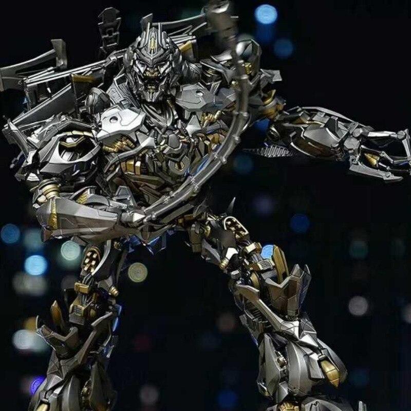 Transformation Galvatron Mega Mpm08 Action film modèle Figure déformable plastique et alliage surdimensionné 30cm voiture Robot jouets