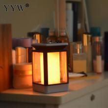 все цены на Led Solar Lantern Light Candle Lantern Hanging Lampion Landscape Light Three Mode Flame Light Outdoor Garden Light Party Decor онлайн