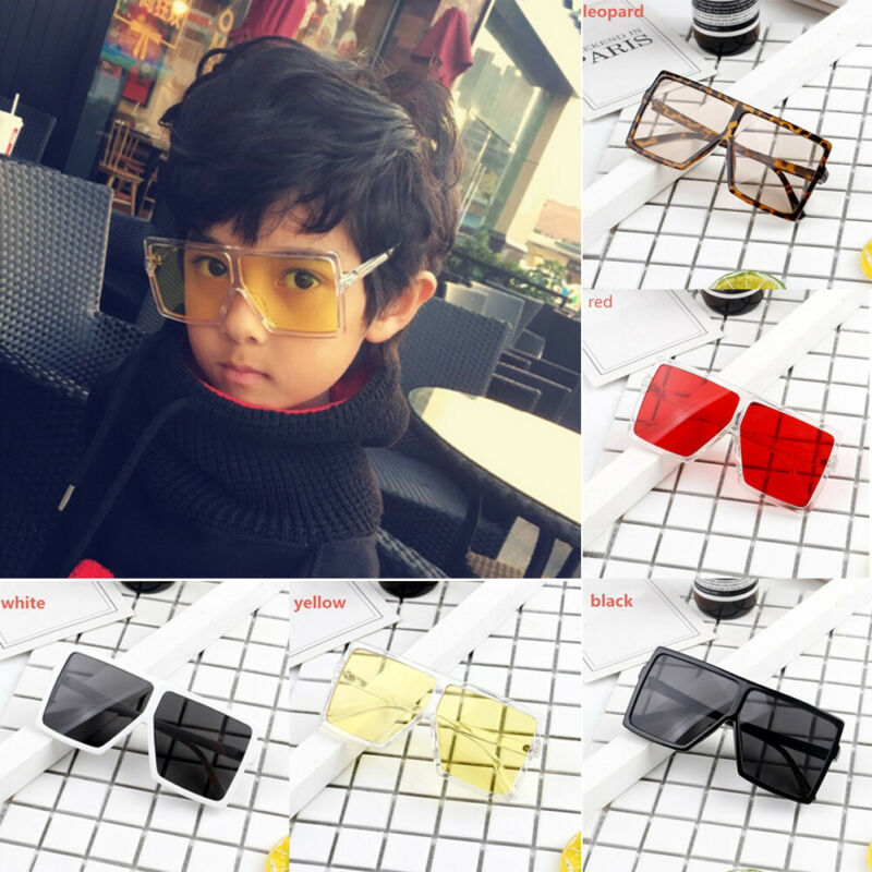 2020 Baby Boys Girls Sunglasses Plastic Frame Goggles Children Square-framed Toddler Kids Eyeglasses Swimming Pool & Accessories
