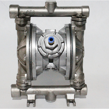 Stainless Steel Air operated Pneumatic diaphragm pump  Corrosion resistant acid and alkali Corrosion high temperture QBK40 pump qby 15 corrosion resistant double way pneumatic diaphragm pump 0 1m3 h