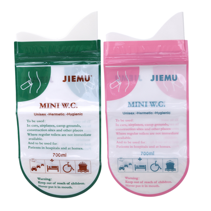 Emergency Urine Bag Mini Toilet Creative Hot New Baby Kids Training Pants 4 Pcs Portable Disposable Travel