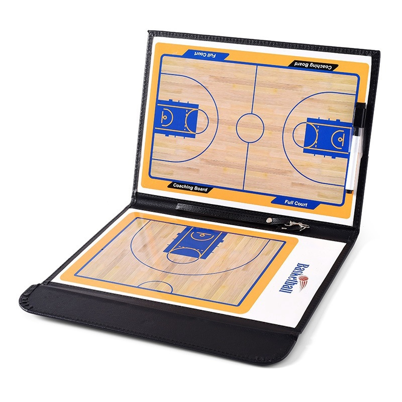 Basketball Tactic Board Basketball Accessories Professional Basketball Board Double-Sided Teaching Board