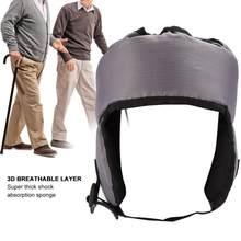 Casquette de sécurité pour personnes âgées, chapeau doux et ajustable, Protection de la tête, Anti-Collision, soins des oreilles, hiver