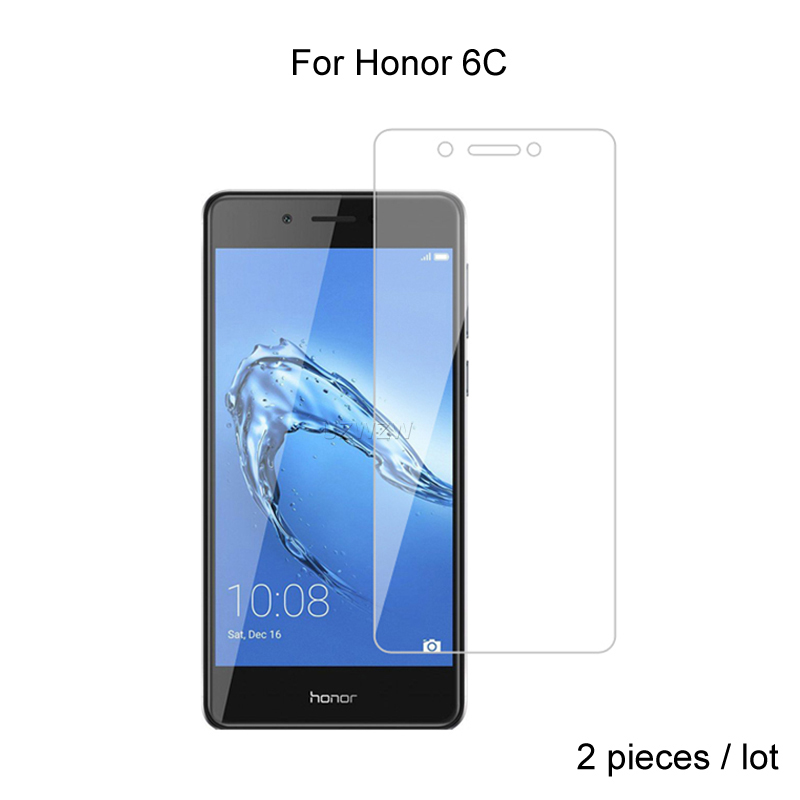 2pcs For Huawei Honor 6C Glass Premium 2.5D Tempered Glass Screen Protector For Huawei Honor 6C Protective Glass