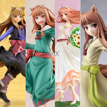 20 CM Figure Anime Spice and Wolf Figure Holo Wedding Dress Ver. Holo Renewal 1/8 Scale PVC Action Figure Collectible Toy boruto naruto next generations gem naruto uzumaki seventh hokage ver pvc anime action figure collectible model toy