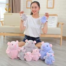 1PCS 18/20/25cm Kawaii mouse plush toy mini soft stuffed animal kids toys simulation funny Christmas gifts