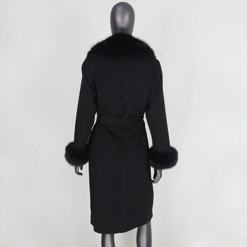 Hba276a42227f48679c686afa9292b5d17 2021X-Long Natural Mongolia Sheep Real Fur Coat Autumn Winter Jacket Women Double Breasted Belt Wool Blends Overcoat Streetwea