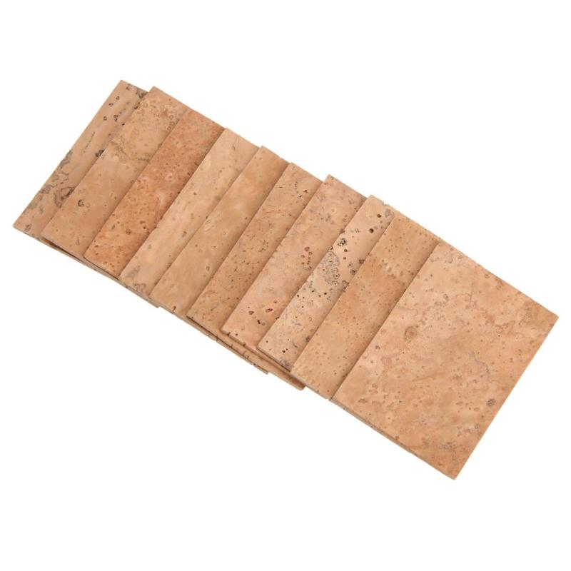 Imported Cork Musical Instrument Saxophone Flute Clarinet Natural Cork Sheet Kit Necessary Woodwind Instruments Supplies