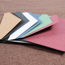 10 Pcs/lot Vintage Kraft Paper Envelope Letter Red Black European Style Envelope for Business Card Invitation Black Envelope