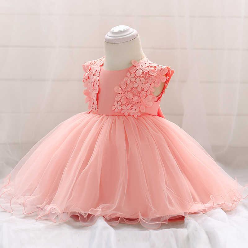 Розничная продажа, кружевные вечерние платья принцессы розового цвета с цветочной вышивкой красивое белое платье для первого причастия L1838XZ