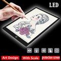 Копировальный стол с usb-кабелем  акриловая панель  5 Вт  5 В  цифровые планшеты  планшет для рисования  Artcraft  A4  копия  A4  светодиодный  доска