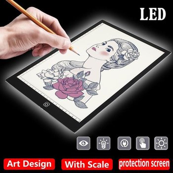 Copy Desk With USB Cable Acrylic Panel 5W 5V Digital Tablets Drawing Tablet Artcraft A4 Copy A4 LED Board