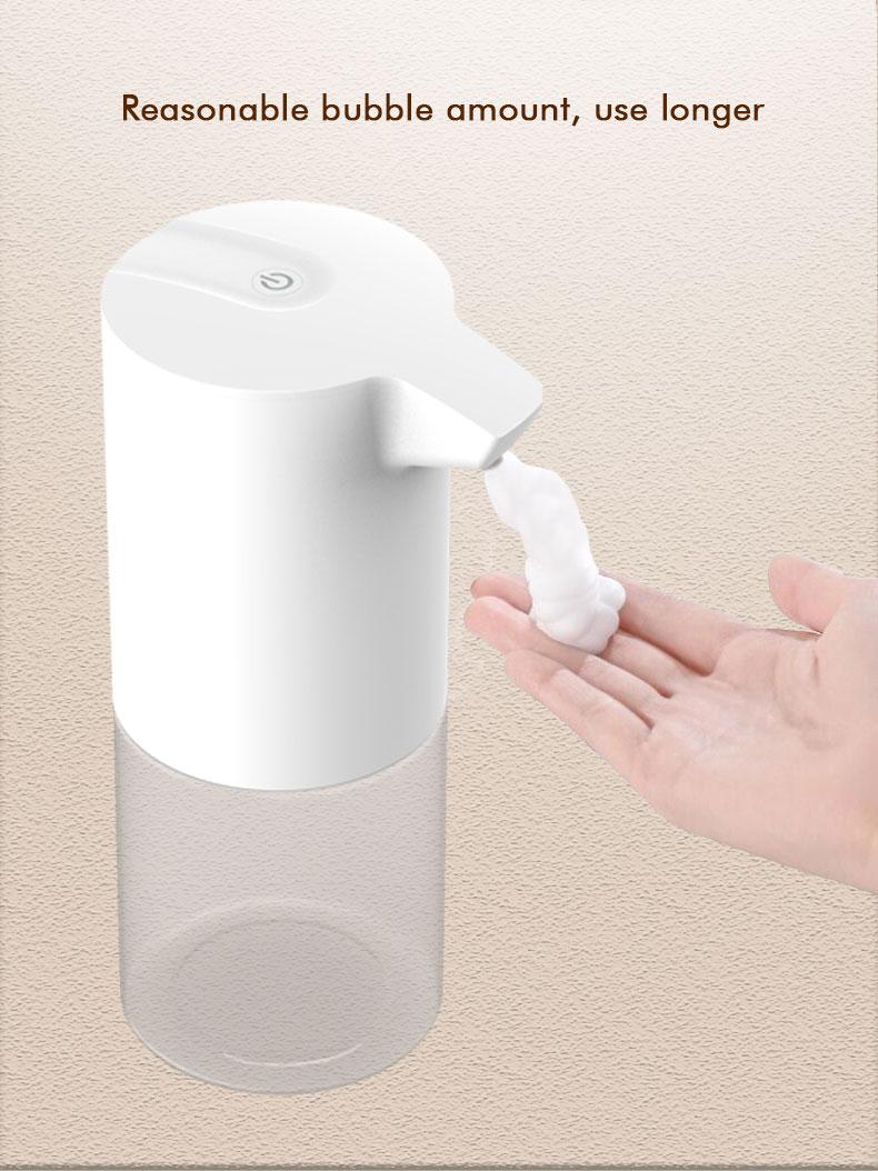 Бесплатно настенный подвесной умный датчик пузырь мыло дозатор инфракрасный датчик вспенивание ручная стиральная машина для умного дома