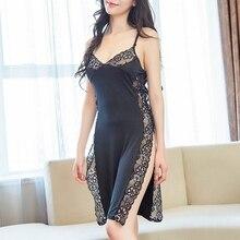 Lingerie Sleepwear Sexy Silk