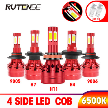 4 side headlight COB led h7 led h4 h11 h1 h3 9005 hb3 9006 hb4 9012 hir2 h8 h9 880 9004 9007 h13 Car headlamp bulb 12V 24V 6500K 2x f2 csp cob car led headlamp auto headlight bulbs lamp h3 h4 h7 h8 h13 h27 880 9004 9005 9006 900 led 4800lm 6500k 4300k 3000k