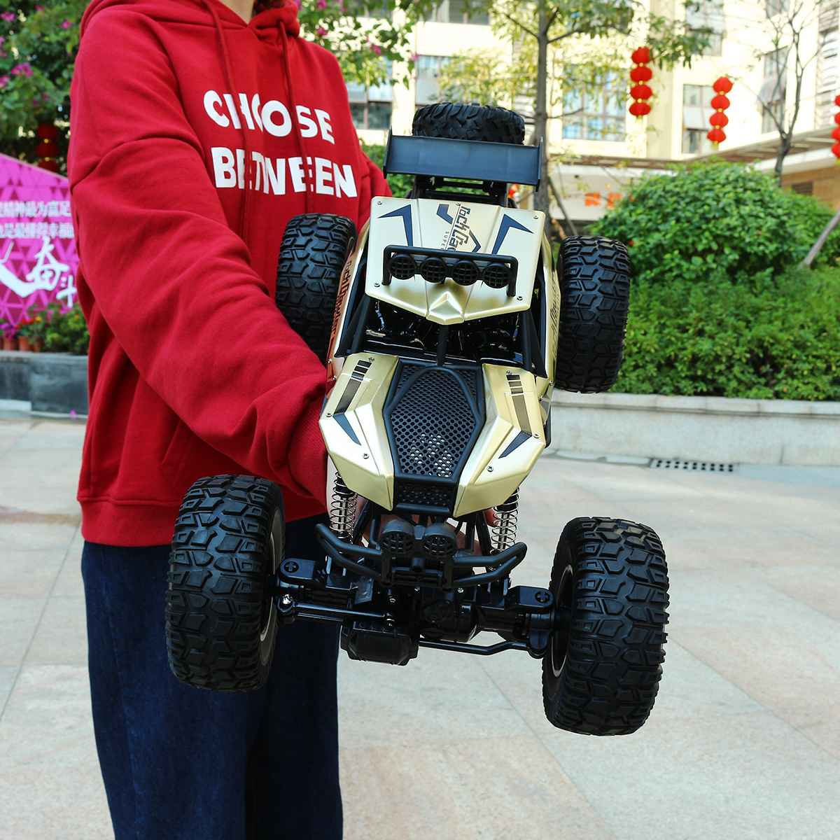 1:8 50cm RC Car 4WD 2.4G Radio Controlled Machine Off-road Electric Vehicle Remote Control Car Toys For Boys Children
