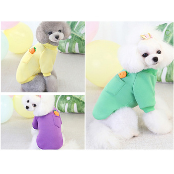 pawstrip Cute Small Dog Clothes Puppy Shirt Soft Warm Dog Sweatshirt Chihuahua Yorkie Dog Coat Pet Clothing For Dogs Cats S-2XL 2