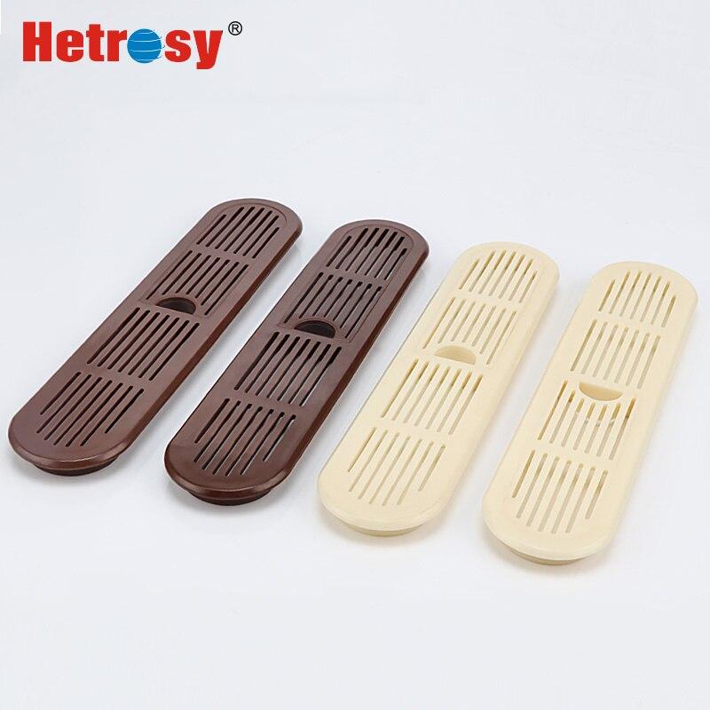 Hetrosy Furniture Hardware Plastic  Oval Air Vent Air Ventilator Platsic Ventilation  Pack Of 2PCS