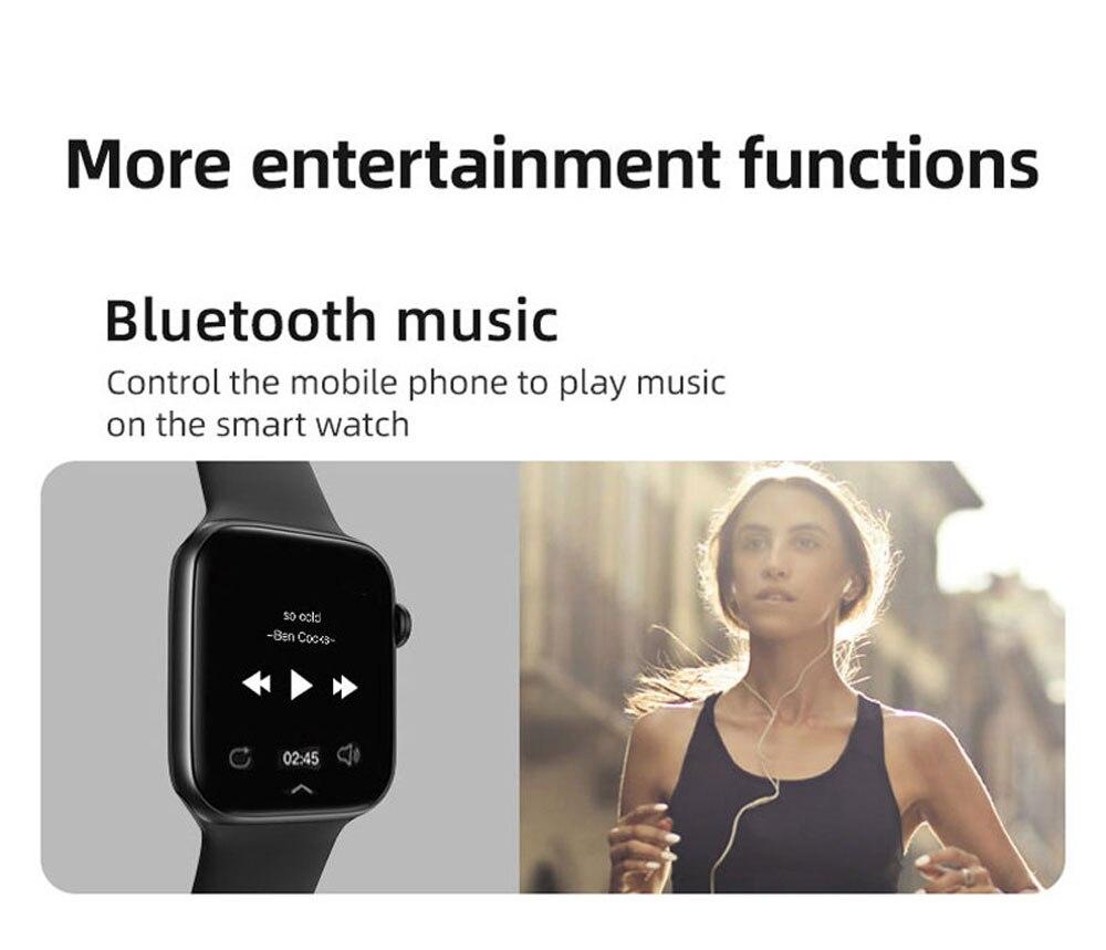 Hba2865516ba042e19ab0b28efe90ce08K Smart Watch Men Smartwatch Women Dial Call Watch Waterproof Fitness Tracker Music Control 2021 For Iphone Xiaomi Huawei IWO+gift