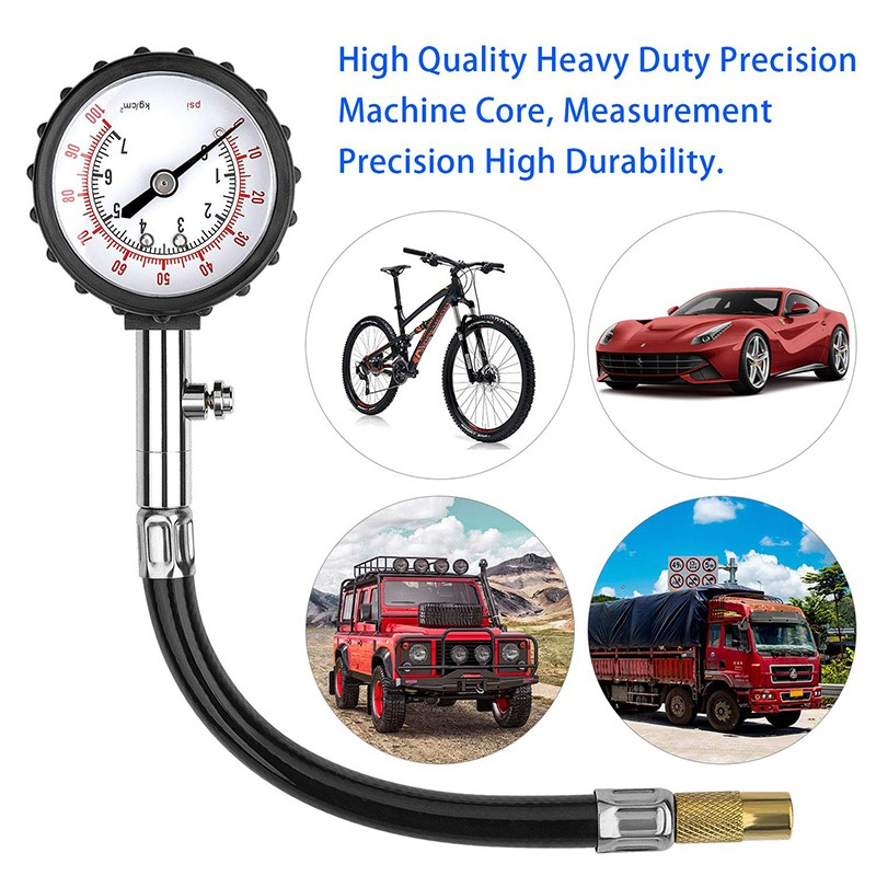 Digital Rapid Tyre Tire Deflator Car Trucks Tire Pressure Gauge Air Deflators Off-Road Vehicle 4WD 4X4 Accessories with Pressure