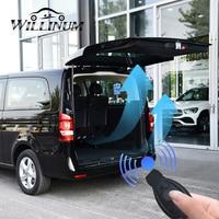 Porta traseira elétrica para mercedes benz vito controle remoto inteligente caixa de cauda aberta porta traseira levantamento automático dar sensor pé|Peças e tampas p/ baú| |  -