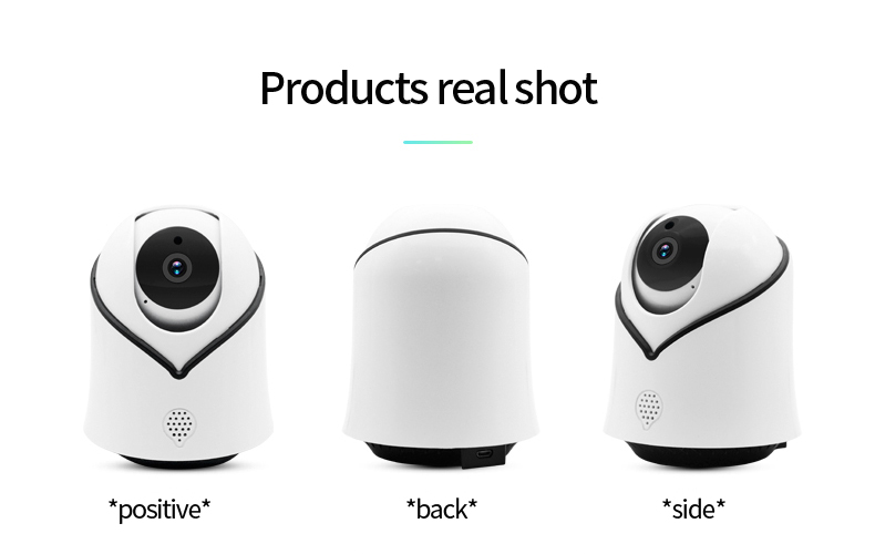 Hba28bc57fec54b489a41749ee07f0857v Cute Y10 PTZ Wireless IP Camera 720/1080P Infrared Night Vision Voice Call Home Security Surveillance WiFi Camera Support 128G