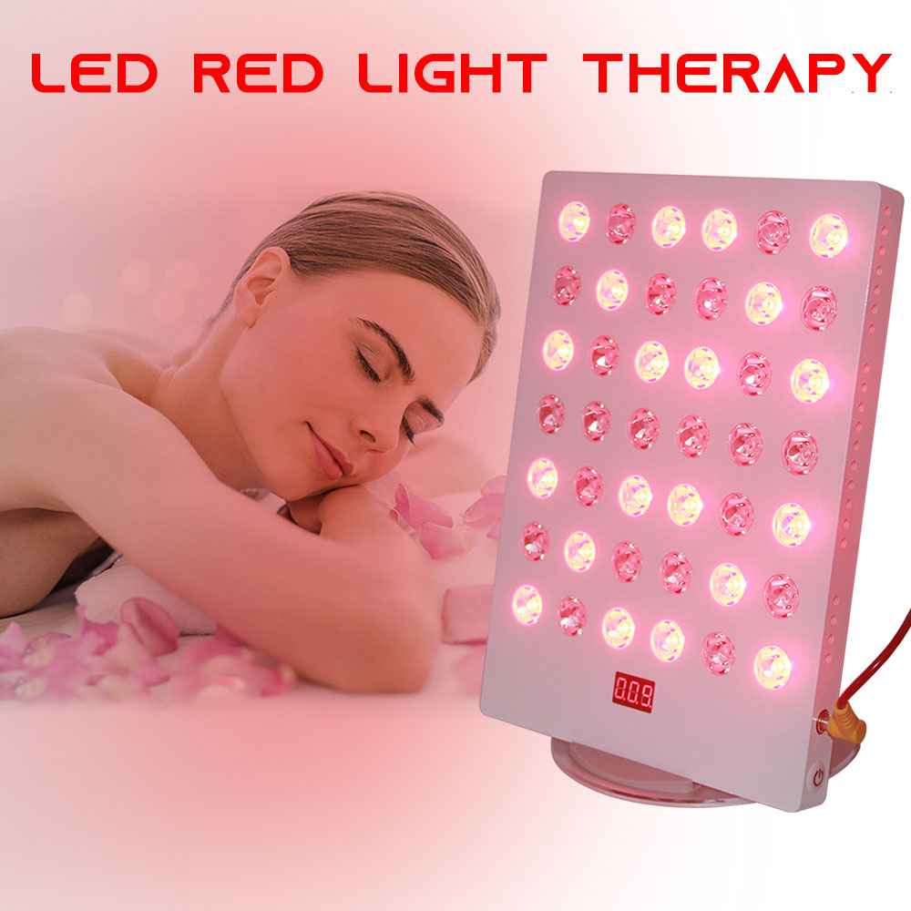 Home Spa TLplus 660nm 850nm Infrared Heating Red Led Light Therapy With Time And Rechargeable Face Skin Beauty Device Machine