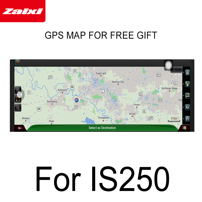 Car Android screen For <font><b>Lexus</b></font> <font><b>IS</b></font> <font><b>250</b></font> 2013 <font><b>2014</b></font> 2015 2016 2017 2018 2019 touch display GPS Navigation radio stereo Audio player image