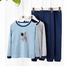 Fashion Kids Thermal Underwear Striped Long Johns for Kids C