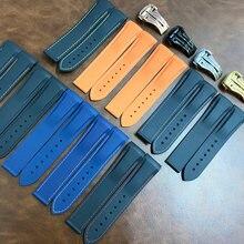 Ремешок силиконовый для наручных часов резиновый браслет занятий