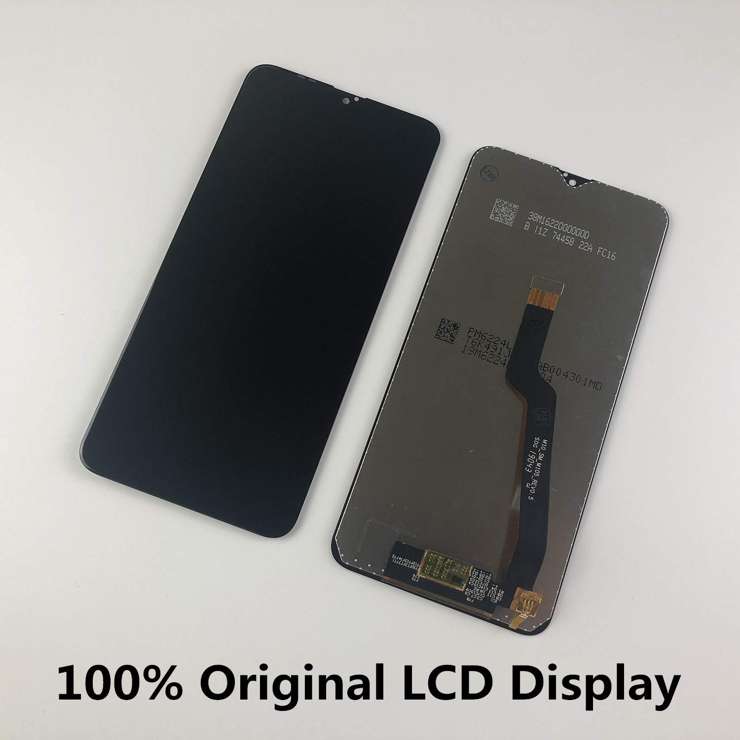 Original For <font><b>SAMSUNG</b></font> Galaxy <font><b>A10</b></font> A105 A105F SM-A105F M105F SM-M105F M10 <font><b>LCD</b></font> Display Touch <font><b>Screen</b></font> Digitizer Replacement image