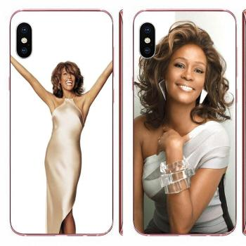 For Xiaomi Redmi 3 3S 4 4A 4X 5 6 6A 7 K20 Note 2 3 4 5 5A 6 7 Plus Pro Soft Shell Phone Case Whitney Houston Pattern image