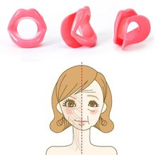 Make Up Silicone Rubber Face Care Slimmer Mouth Muscle Tightener Anti-aging Anti-wrinkle Beauty Massage Face-lift Tool