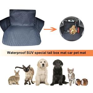 Image 2 - Waterproof Canvas Pet Dog Pad Cover SUV Car Trunk Mat Seat Cover Cushion for Puppy Cats Accessories Dustproof Cover