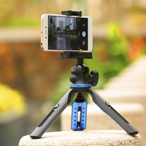 Image 5 - 전화 삼각대 소형 카메라 스탠드 스마트 폰 dslr 카메라 용 미니 탁상용 삼각대 iphone xs xs max x 8 7 plus samsung for huawei