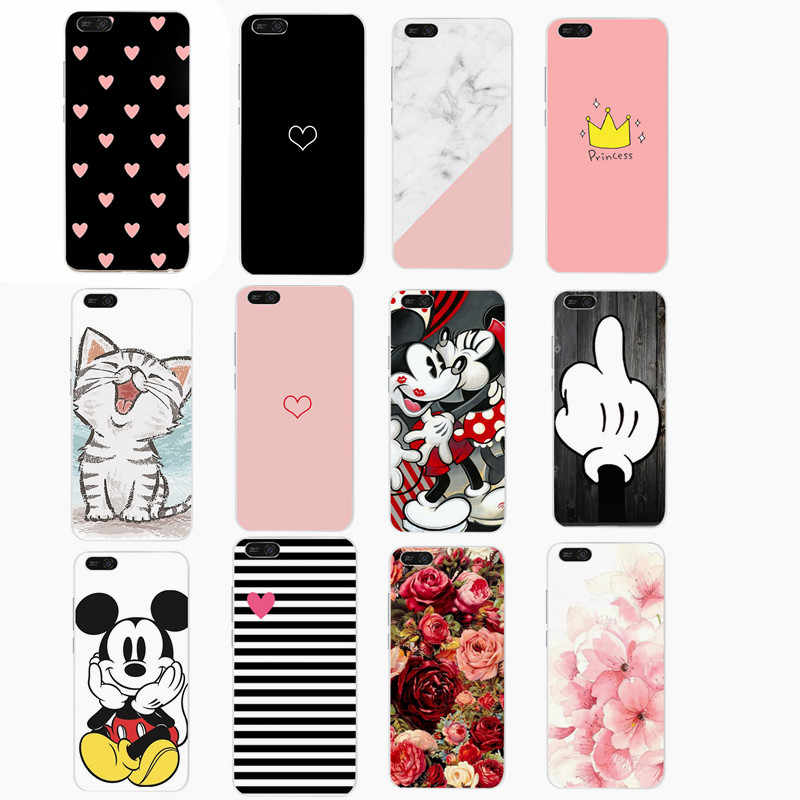 Soft For Huawei on Honor 7A Pro Case Silicone Cover Cute For Huawei Y5 Y6 Prime 2018 P20 Mate 20 Lite P Smart 2019 Cute Cat Case