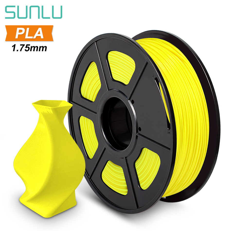 SUNLU 1 75mm PLA Filament For 3D Printer Plastic PLA 3D Filament Low Shrinkage 3d Printing Materials