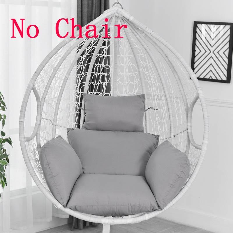 Balcony Swing Basket Seat Cushion Outdoors Detachable Patio Garden Lounge Chair Cushion Pads(China)