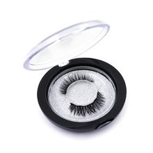 1 para 3D magnetyczne rzęsy zestaw magnes płynny eyeliner i 5 rzęsy magnetyczne i pęseta zestaw wodoodporny długi trwały przedłużanie rzęs tanie tanio FUNMIX 4pcs