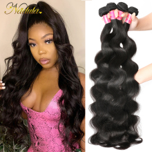 Hair-Weave-Bundles Body-Wave Nadula Brazilian 30inch Long 100%Remy