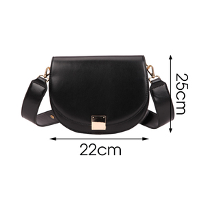 Image 5 - Brand Hoge Kwaliteit Pu Leer Vrouwen Hasp Zadel Tassen Designer Luxe Vrouwen Tas 2020 Famale Vintage Schouder Messenger Bags