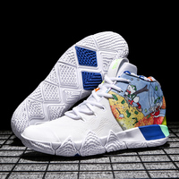 2019 Kyrie Irving Mens Basketball Shoes Athletic Sport Sneakers High Cut Breathable Footwear Outdoor Air Cushion Shoes