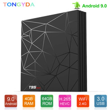 T95 MAX TV Box Android 9.0 Allwinner H6 4GB 64GB W