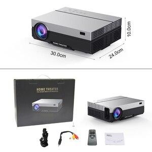 Image 5 - Touyinger t26l t26k 1080p led completo hd projetor vídeo beamer 5800 lúmen fhd 3d cinema em casa hdmi (android 9.0 wifi opcional)