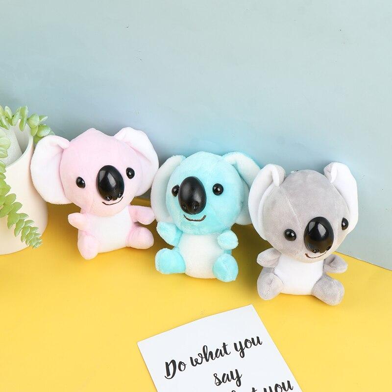 1Pc Plush Koala Keychain Stuffed Animal Koala Doll Toys Backpack Pendant Gifts