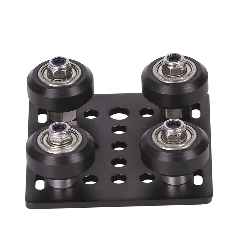 1set 3D Printer parts Openbuilds <font><b>V</b></font> gantry plat set special slide plate pulley for 2020 /<font><b>2040</b></font> <font><b>V</b></font>-<font><b>slot</b></font> aluminum profiles wheels image