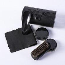 Shoe Brush, Multifunctional, Match Sets, Leather Care Six-Piece Set Shoe Set