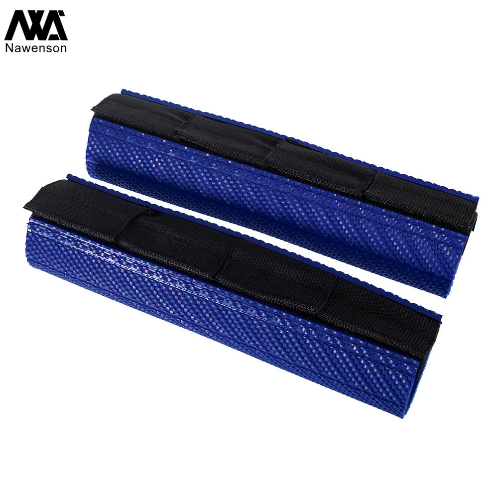 Upper Fork Protectors Rubber Wraps Gaiters Universal Motorcycle Accessories for Dirt Bike for Yamaha YZ125 WR250R for Kawasaki KX450 for Husqvarna TC125//250 Blue